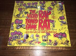 Rap Rat The Video Board Game Brand New Sealed 1992 A