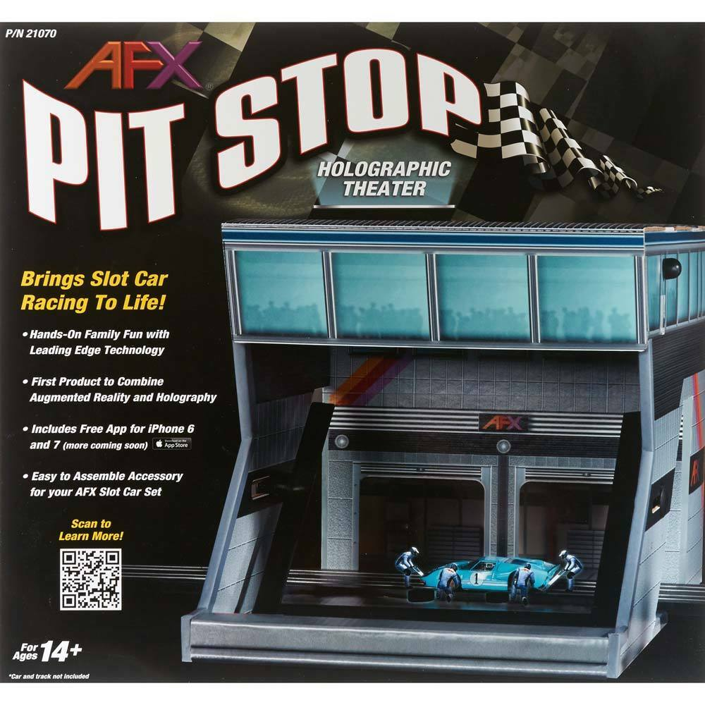 AFX Pit Stop Holographique Theater 21070