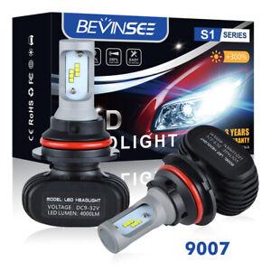 LED Headlight Kit 9007 HB5 6000K White Hi//Low Bulb for PONTIAC Sunfire 1995-2002