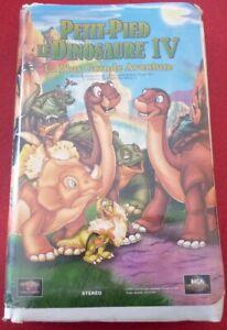 VHS-French-Movie-Petit-Pied-le-Dinosaure-IV-La-Plus-Grande-Aventure