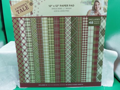 12 x 12 Card Stock paper pad Crafters Companion