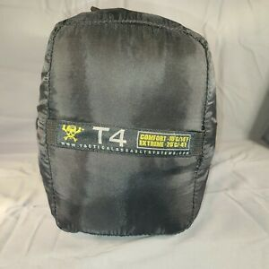 """Tactical Assault Systems TAS T4 Comfort Extreme Winter Sleeping Bag -4°F 65""""x86"""""""