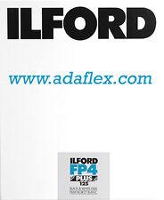 PLAN-FILM 4x5 NOIR & BLANC - ILFORD FP4+ 125 ISO - 25 PLANS-FILMS