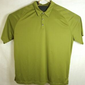Details about OGIO Mens 3XL XXL Green Short Sleeve Activewear Golf Polo Shirt Casual