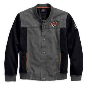 97465-18VM-HARLEY-DAVIDSON-MEN-039-S-SCREAMING-EAGLE-CASUAL-JACKET-NEW