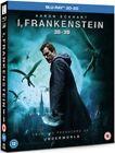 I Frankenstein Blu Ray 3d & 2d Aaron Eckhart VGC