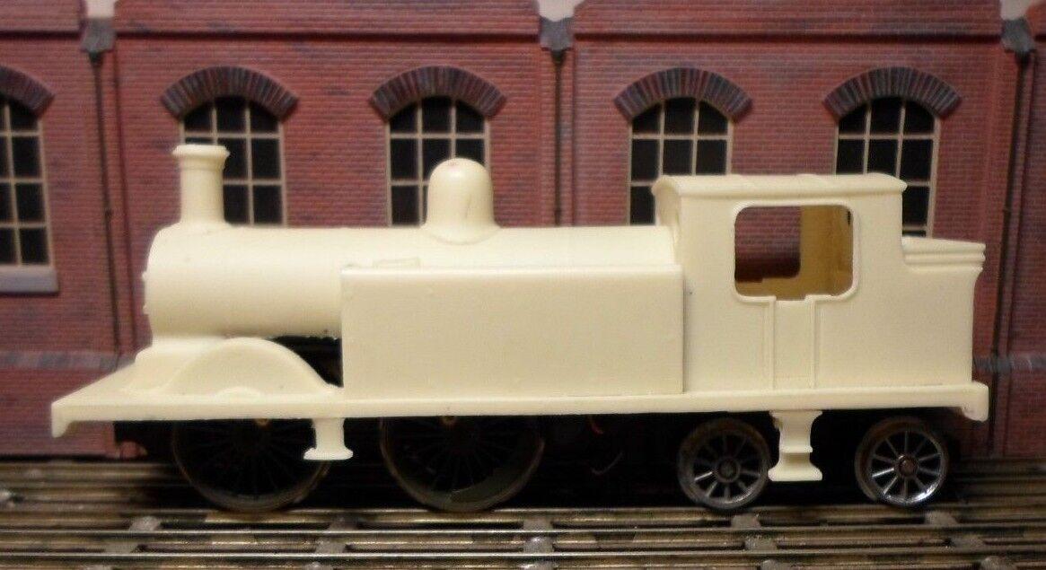 LBSCR SR BR 'D3' 0-4-4 tank loco 4mm finescale resin body kit, brand new