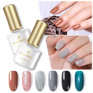 BORN-PRETTY-6ml-Glitter-UV-Gel-Polish-Abloesen-Nail-Art-Gel-Lack-Tips-Dekors-DIY
