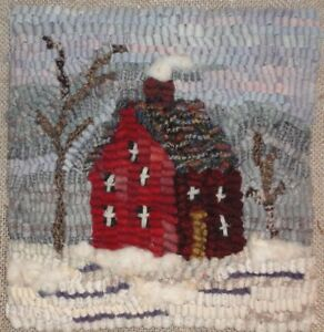 WINTER-HOUSE-RUG-IN-A-DAY-PRIMITIVE-RUGHOOKING-PATTERN