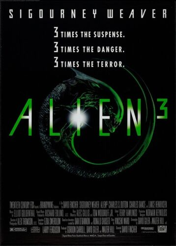 BEST ALIEN Movie Posters Trilogy Great Science Fiction Series A3 or A4 Size