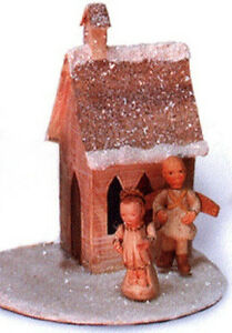 Salamander-POLIWOGGS-MINIATURE-CHRISTMAS-VILLAGE-ANGELS-amp-CHURCH