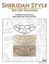 Sheridan Style Tap-Off Tracings - 35 Different Patterns (Leather Designs)