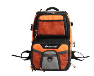 Ozark Trail Elite Durable Fishing Tackle Backpack with 360 & 350 Boxes