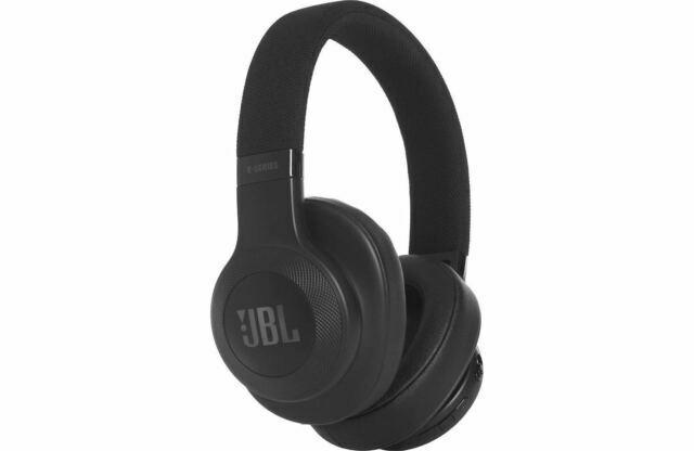 Jbl E55bt Over Ear Wireless Headphones Black For Sale Online Ebay