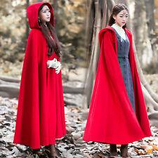 Womens Coat Overcoat Vintage Chinese style Mori girl Winter Lolita Sweet Cloak