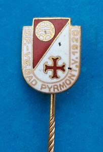 Emaillierte  SP.-VG.BAD PYRMONT.V.1920 - Anstecknadel