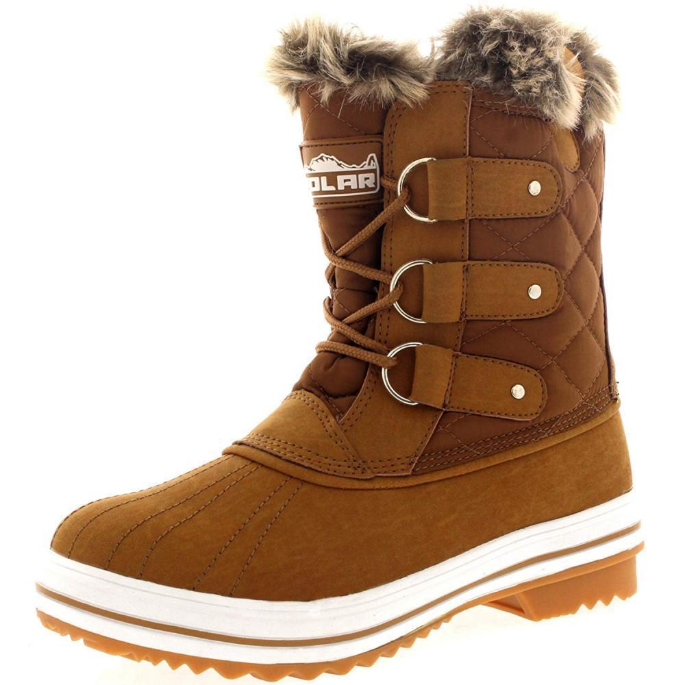 Polar Products Damenschuhe Snow Boot Warm Quilted Short Winter Rain Warm Boot Waterproof Stiefel 32d6c3
