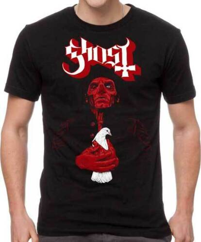 Ghost BC Dove Satanic Death Swedish Heavy Metal Rock Music Band T Shirt GOS10113