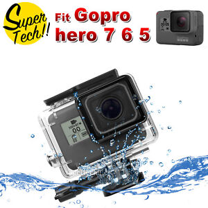 Underwater-Waterproof-Housing-Case-Protecting-Cover-Shell-For-Gopro-Hero-7-6-5
