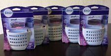 5 Febreze SmallSpaces Sleep Serenity Moonlit Lavender Air Freshener Kit