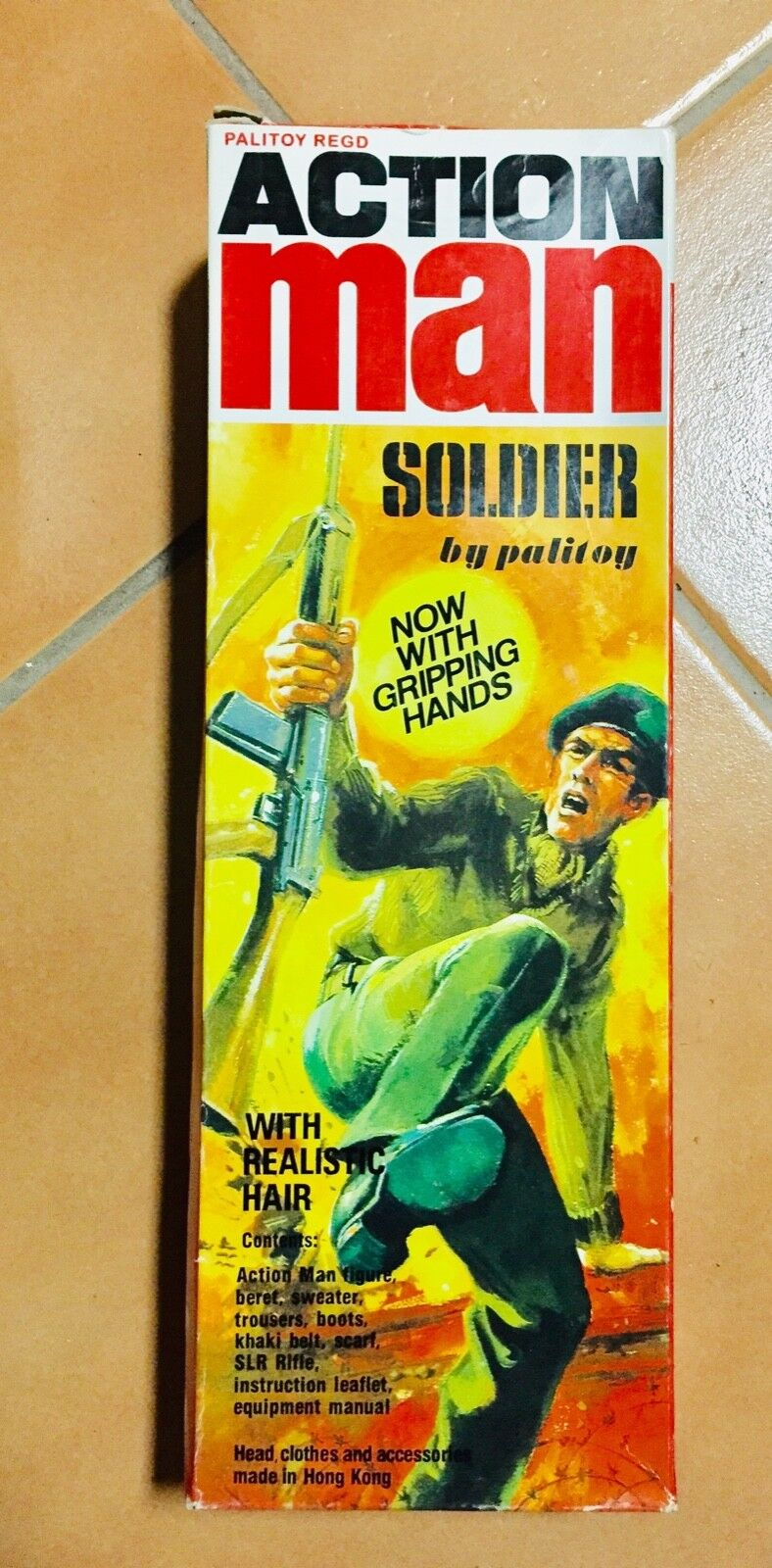GI Joe Action Man Soldier by Palitoy with Gripping Hands Year 2003