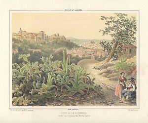 Espana-Andalucia-Granada-View-of-The-Alhambra