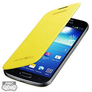 Genuine-Original-Samsung-GT-i9195-Galaxy-S4-S-4-IV-4G-LTE-Mini-Flip-Cover-Case