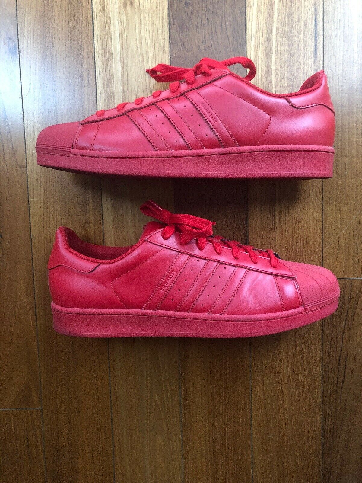 Adidas Superstar SuperColor Pack Pharrell Williams Rojo Tamaño 13