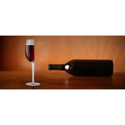 """""""Happy Half"""" Halbes Weinglas von Barbuzzo Weingeschenk Gadget handgeblasen"""