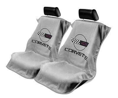 Seat Armour SA100COR4G Grey Corvette C4 Seat Protector Towel