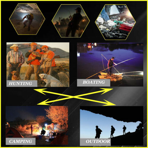 CREE LED 12V 800W Handheld Camping Spot Light Spotlight Hunting Fishing OffRoad