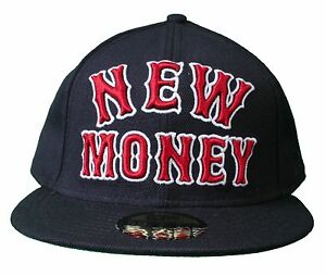 5ce2a7d9375 Rocksmith Team New Money 59FIFTY New Era Navy Red Fitted Baseball ...