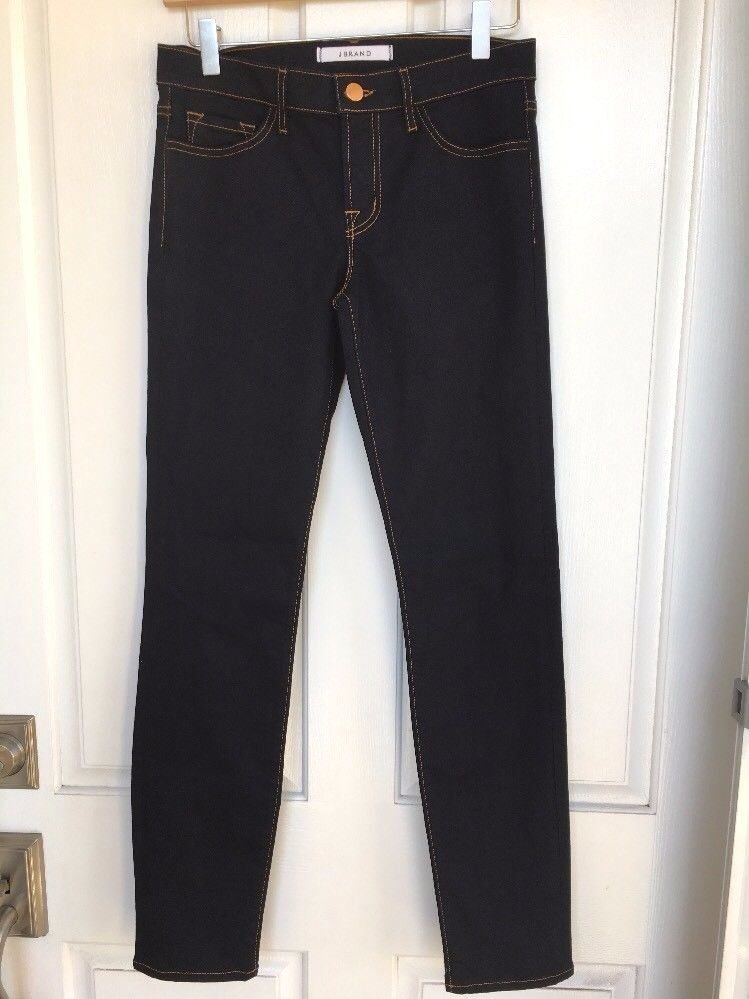 NWOT  Nordstrom J BRAND 811T289 Mid-Rise Skinny Jeans, 25 - Ink bluee