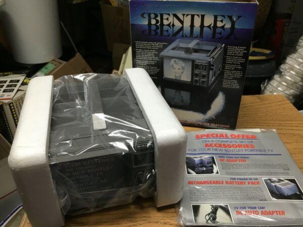Bentley Portable Televison--new In Box...........jor Kan Herhaaldelijk Worden Omgedraaid.