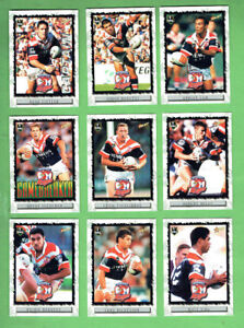 2000-SYDNEY-ROOSTERS-NRL-RUGBY-LEAGUE-CARDS