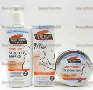57c03a3909b Palmer's Stretch Marks lotion / Bust Firming Cream/ Tummy Butter Set ...