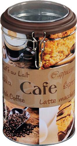 KESPER Kaffeedose Kaffee Dose rund Vorratsdose Blechdose Aufbewahrungsdose