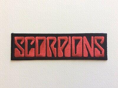 Ecusson brod/é Ecussons Imprim/és Ecussons Thermocollants iron-on Patch Scorpion Noir Dor/é Biker