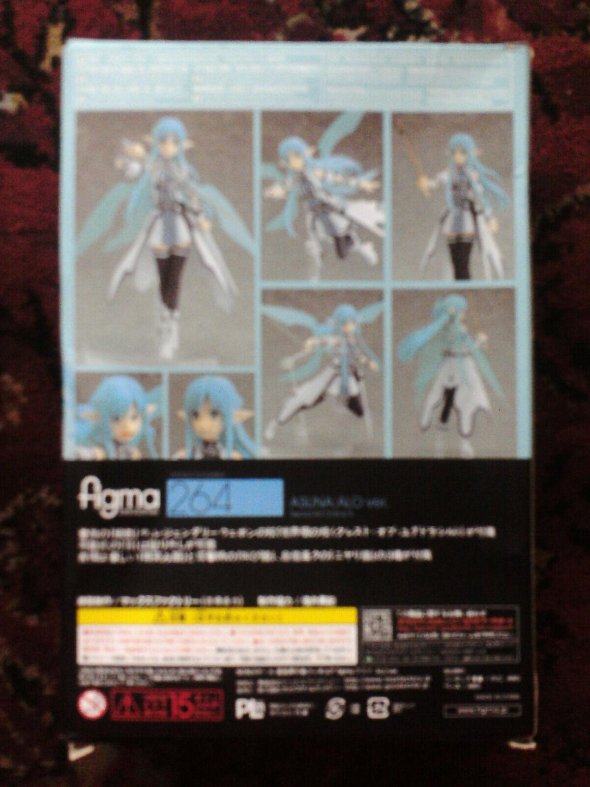 Max Factory Sword Art Online Online Online II  Asuna Alfheim (reproduction) bnib 8e26cf