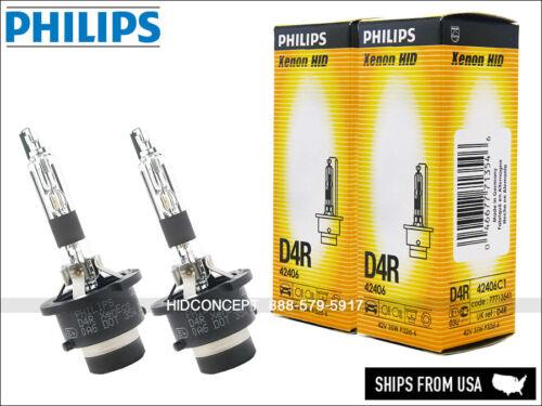 2x D4R Philips XenEco HID XENON Headlight Bulbs 42406 Germany 35W OEM Two BULBS