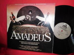 AMADEUS Neville Marriner OST Double LP 1984 AUSTRALIA MINT- G/f Inner MOZART - Italia - AMADEUS Neville Marriner OST Double LP 1984 AUSTRALIA MINT- G/f Inner MOZART - Italia