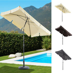 Sonnenschirm-Gartenschirm-Balkonschirm-Strandschirm-Marktschirm-knickbar-3-Farbe