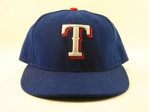 MLB Major League Baseball Texas Rangers 59Fifty New Era Polyester ... 2de49565d81