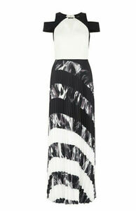 Coast-Women-039-s-Amery-Pleated-Maxi-Dress-Size-UK-10-New-With-Tags