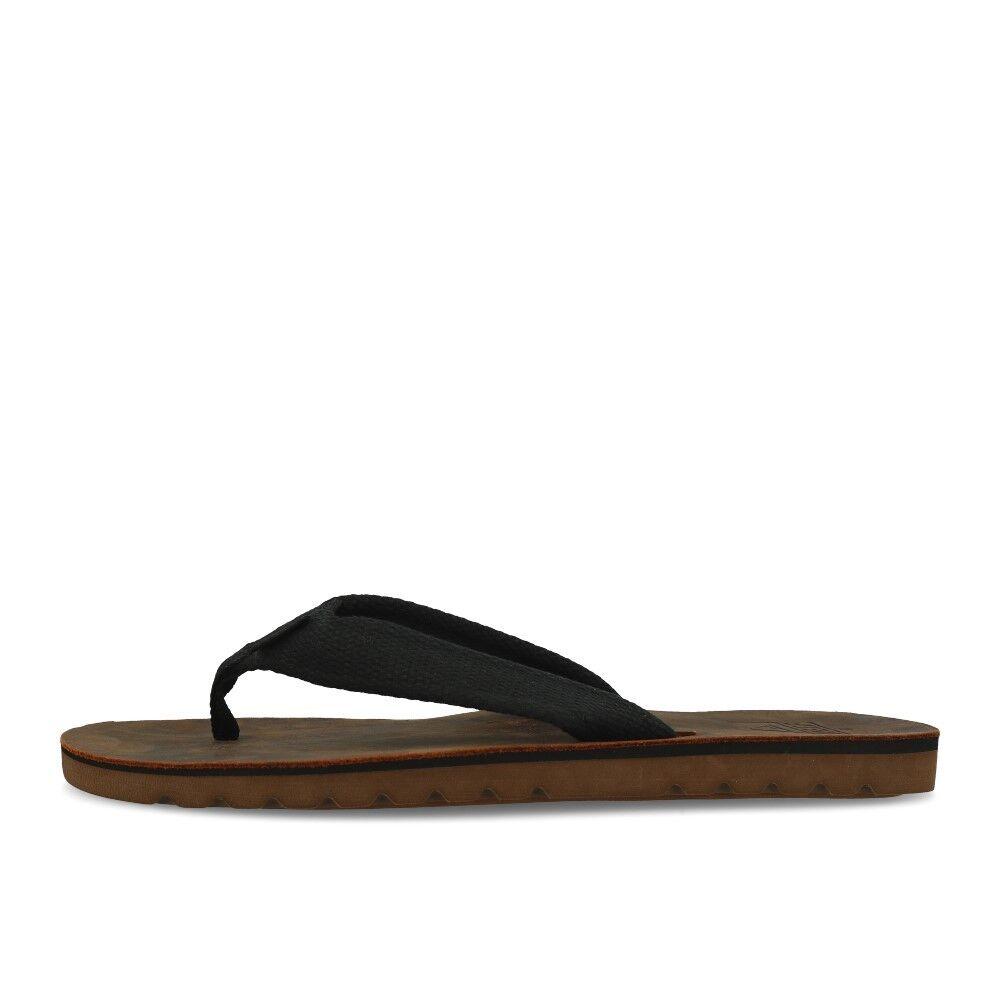 Reef Voyage TX Black Brown Schuhe Sandalen Zehentrenner Schwarz Braun