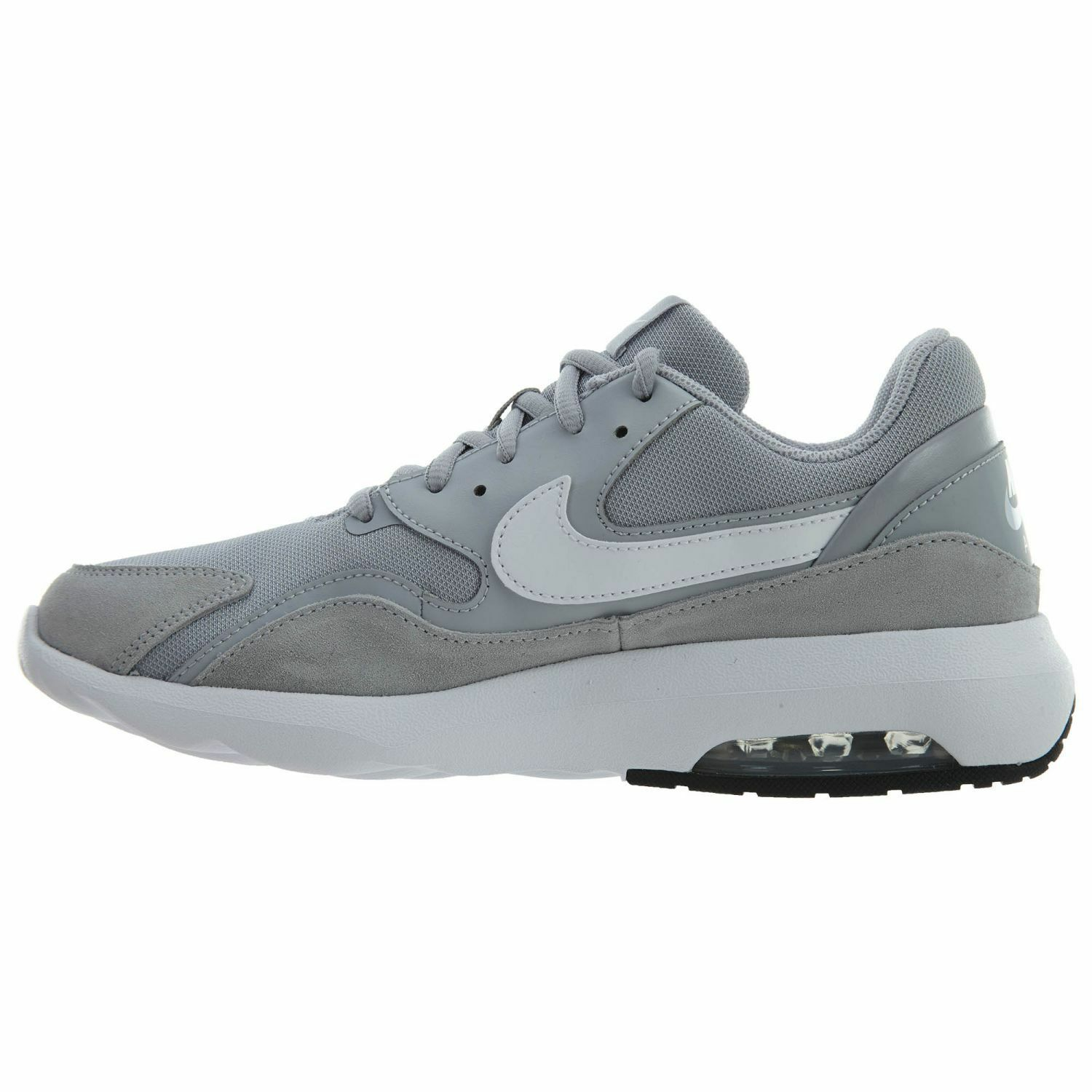 Nike Air Max Nostalgic Mens 916781-001 Wolf Grey White Running 9 Shoes Size 9 Running c1f236