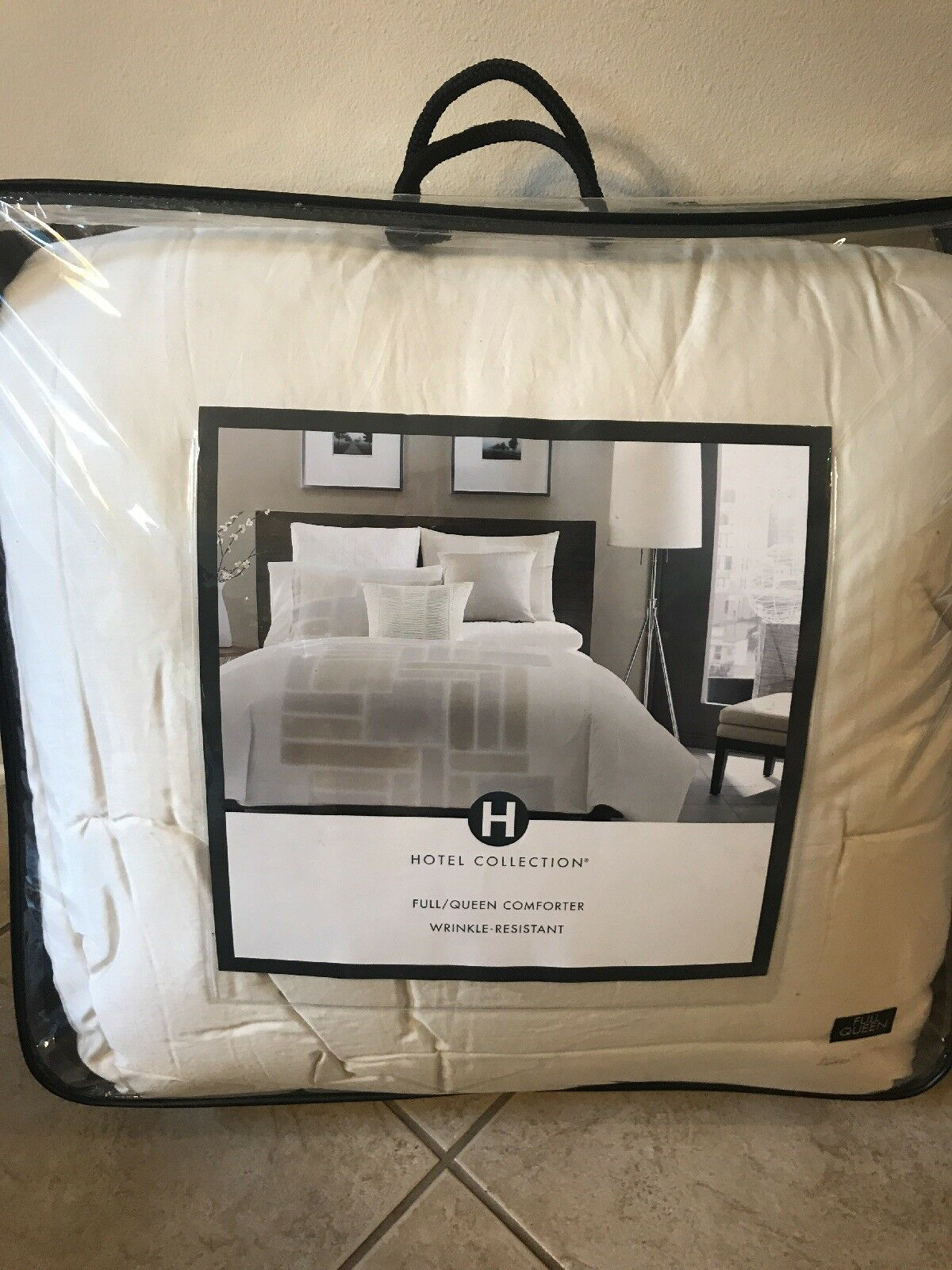 Hotel Collection BRUSH STROKES   FULL   QUEEN Comforter Medium Weight