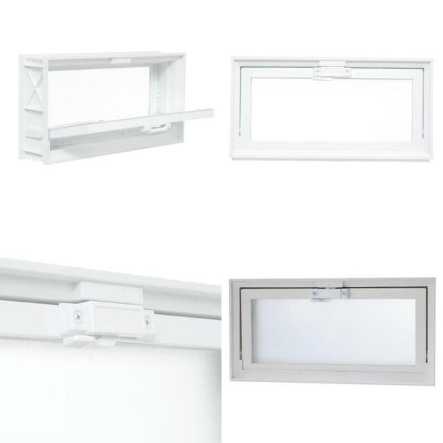 TAFCO Hopper Vent Screen Window Garage Attic Basement Room Vent 15.75 x 7.75 in.