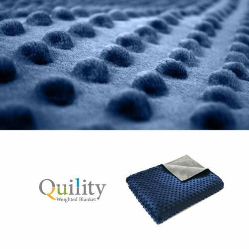 Quility Premium Adult Removable Duvet Cover for Weighted Blanket