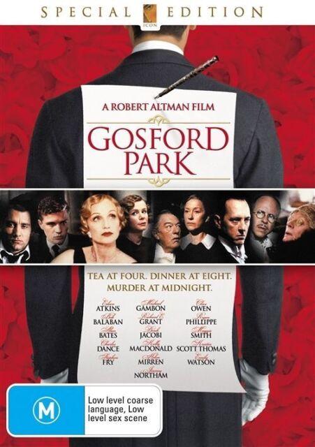 Gosford Park Dvd 2008 For Sale Online Ebay
